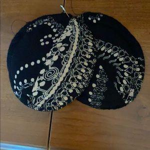 Jones Wear Dresses - Long Black/Paisley Dress Size 16